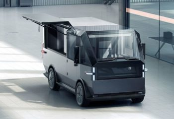 Canoo delivery van