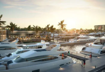 Hurricane Hole Superyacht Marina rendering