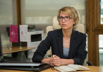 Dina Cibulskaja Telekom CEO