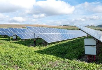PV plant ground mounted with string inverters